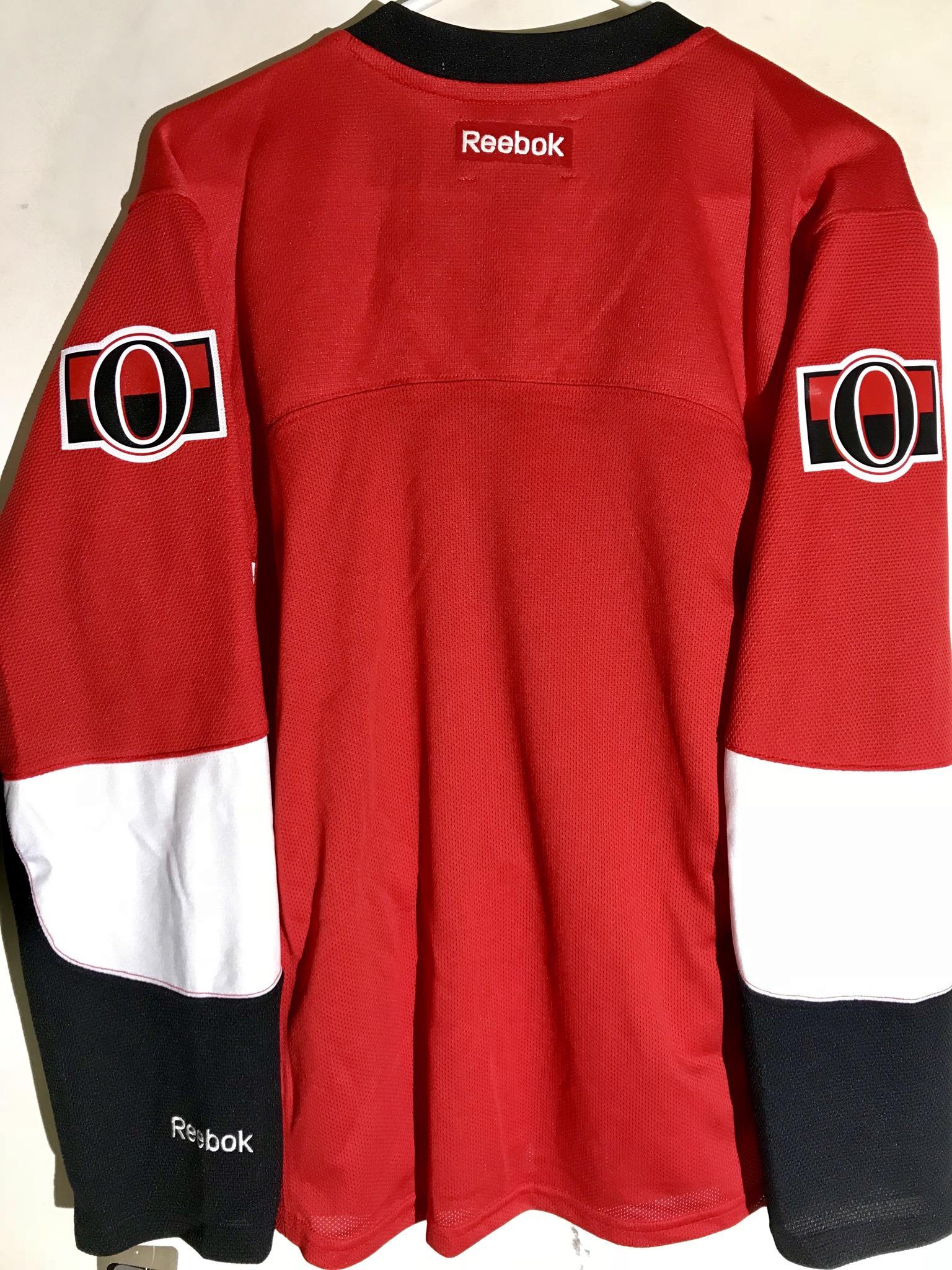 389ddf783fb Reebok Women s Premier NHL Jersey Ottawa Senators Team Red sz L