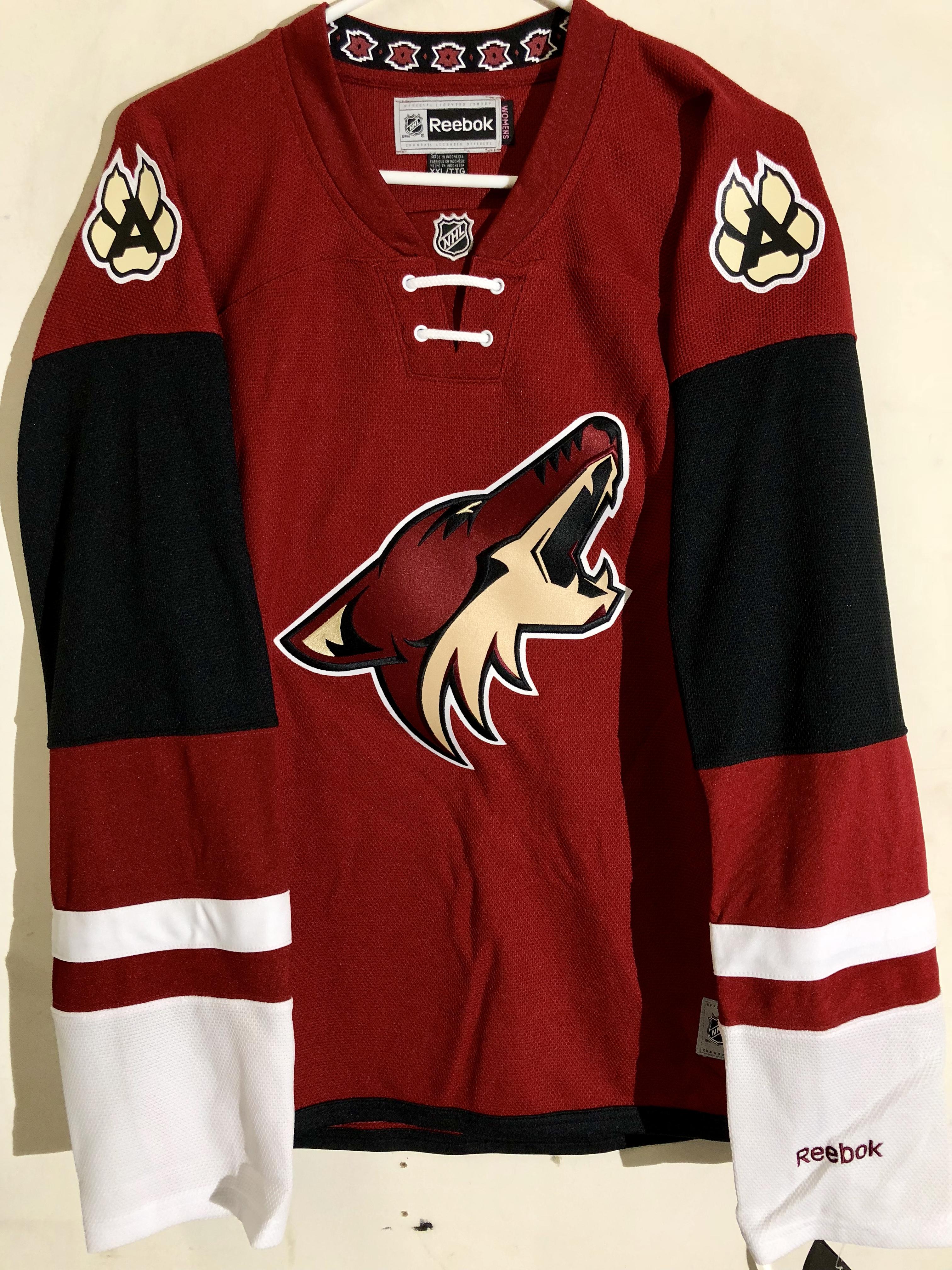 535d99094d3 Details about Reebok Women s Premier NHL Jersey Phoenix Coyotes Team  Burgundy Alt sz 2X