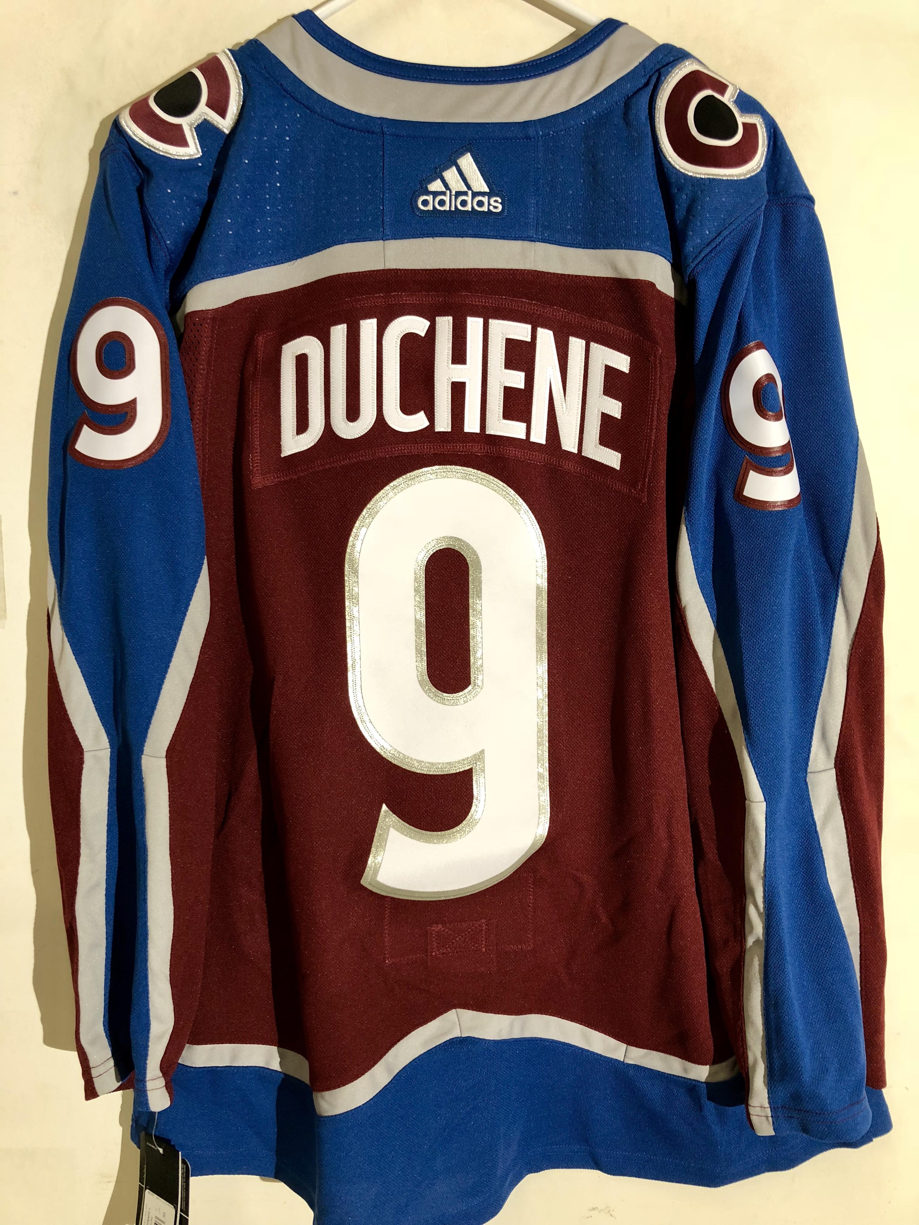 size 40 f97cd f2f39 Details about adidas Authentic NHL Jersey Colorado Avalanche Matt Duchene  Burgundy sz 52