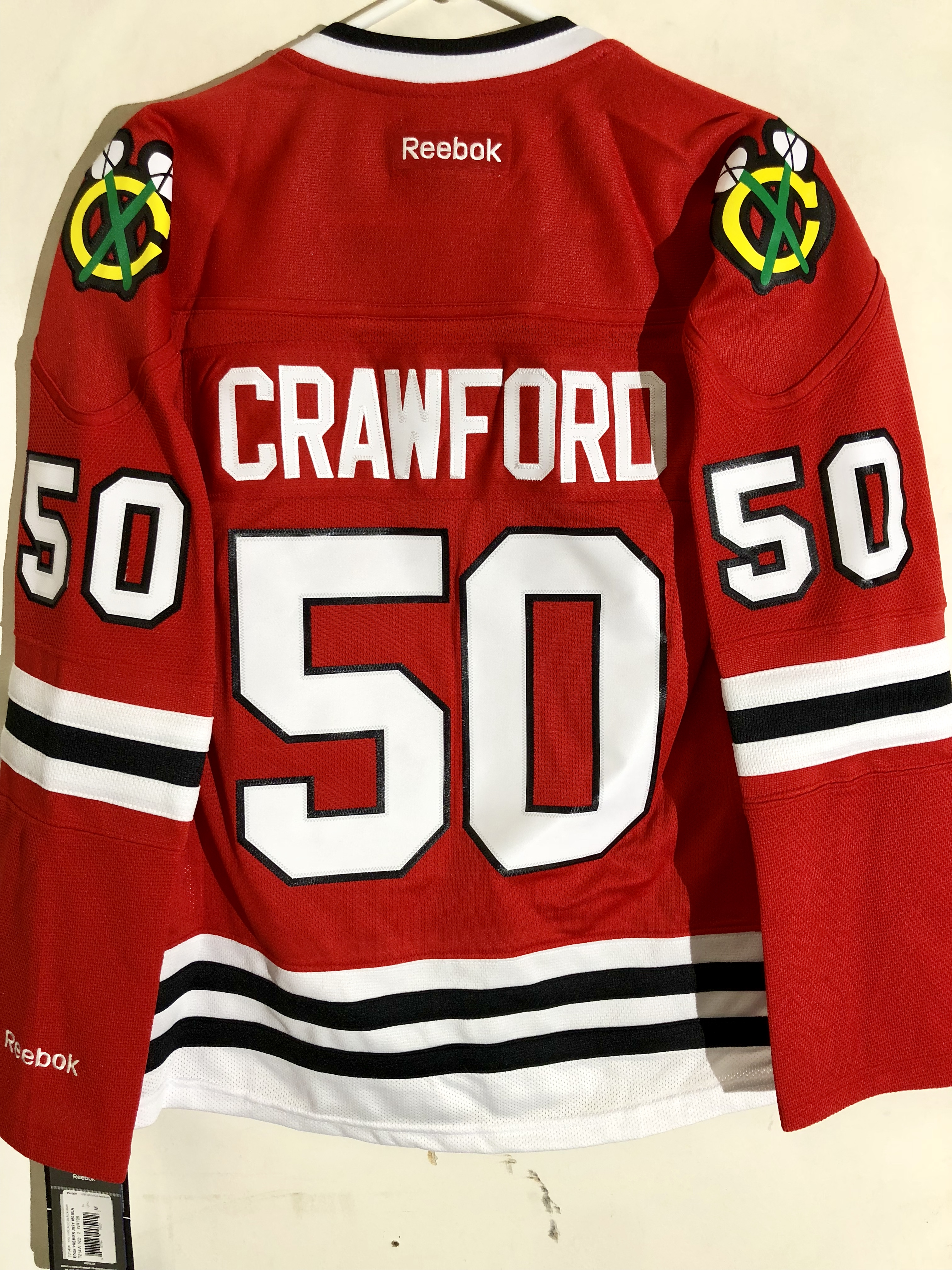 chicago blackhawks crawford jersey