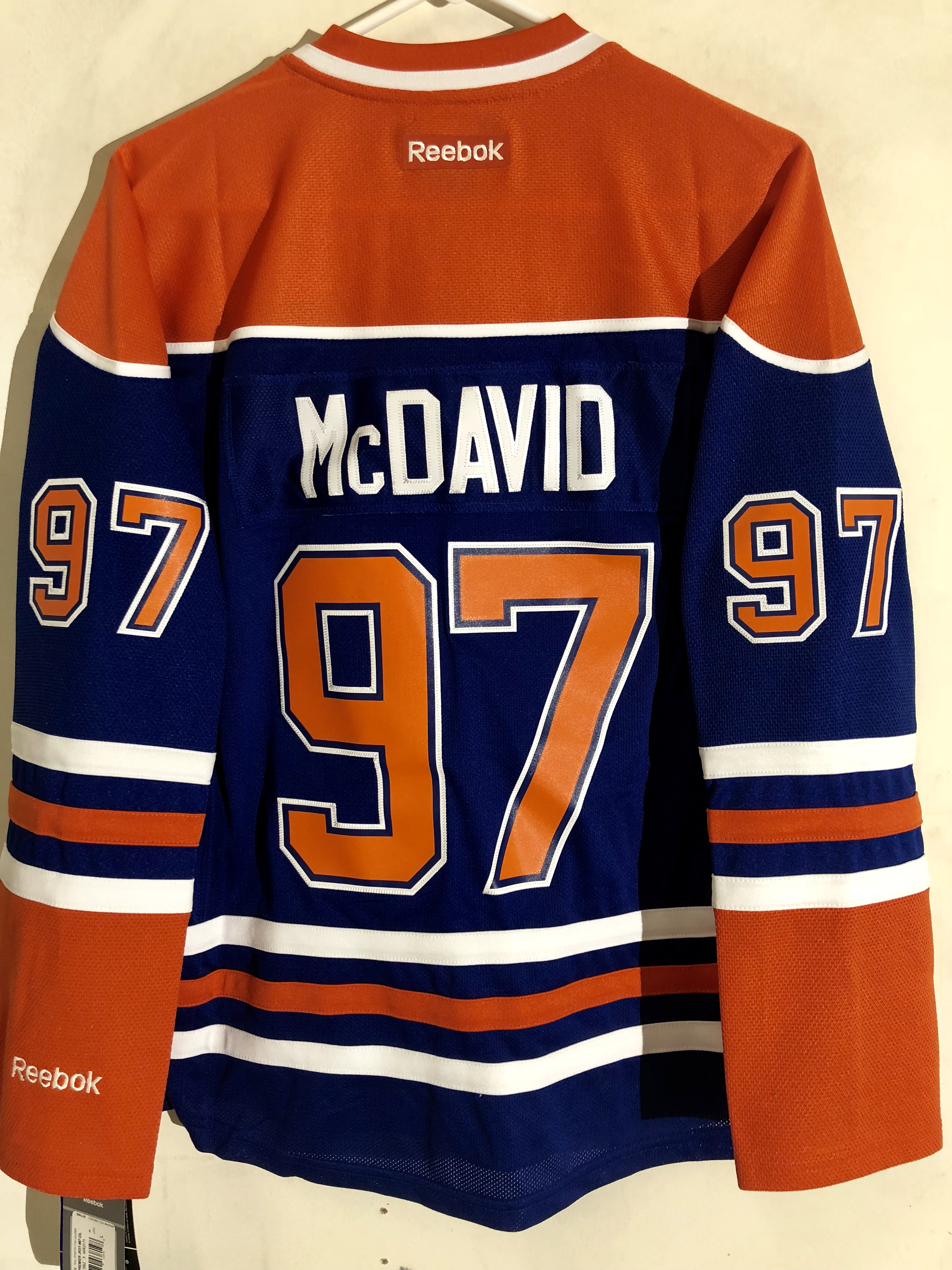 Reebok Women s Premier NHL Jersey Edmonton OIlers Connor McDavid ... 58e6b61b2