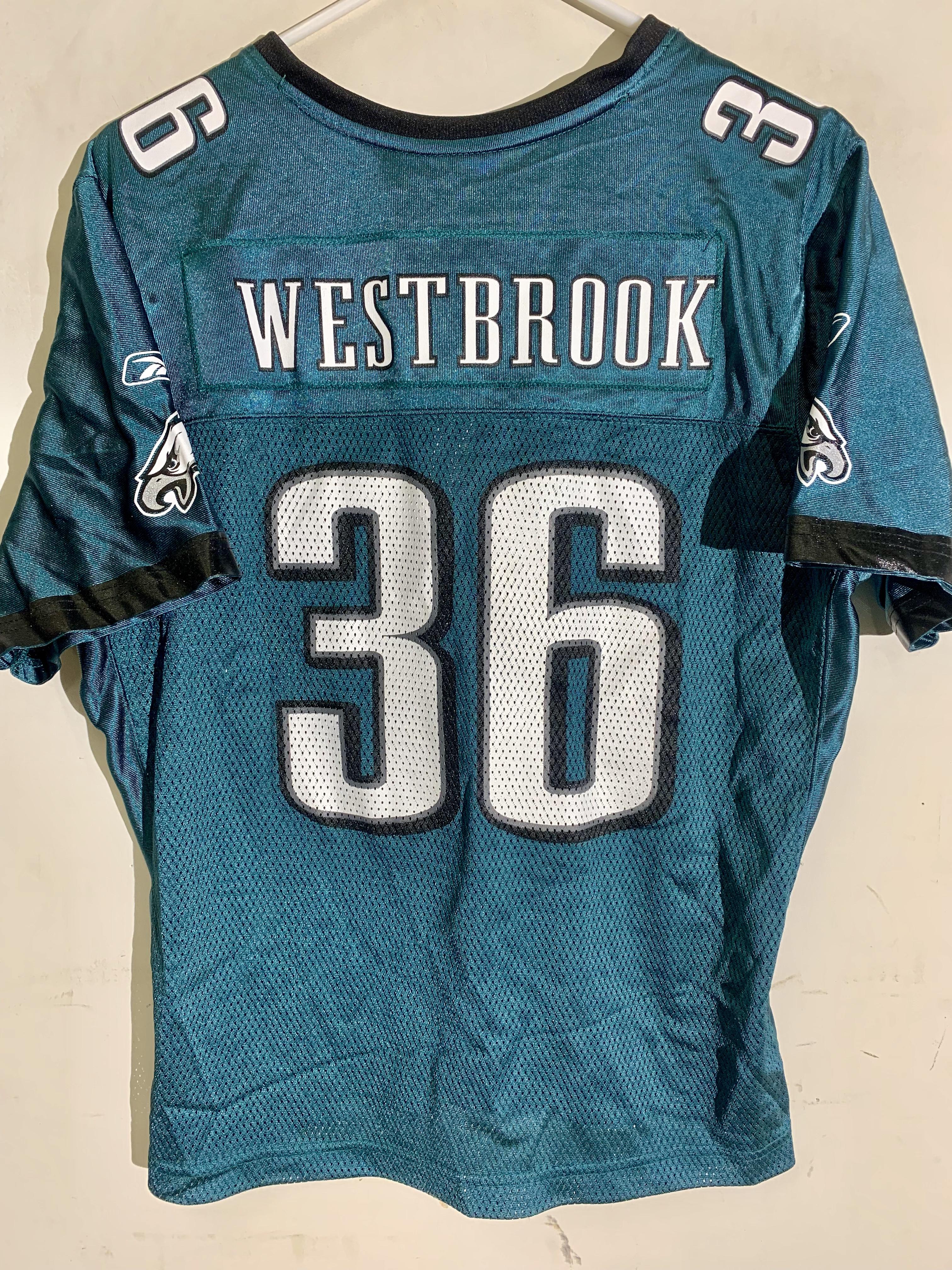 Details about Reebok Women s NFL Jersey Philadelphia Eagles Westbrook Green  sz 2X db2f22d69