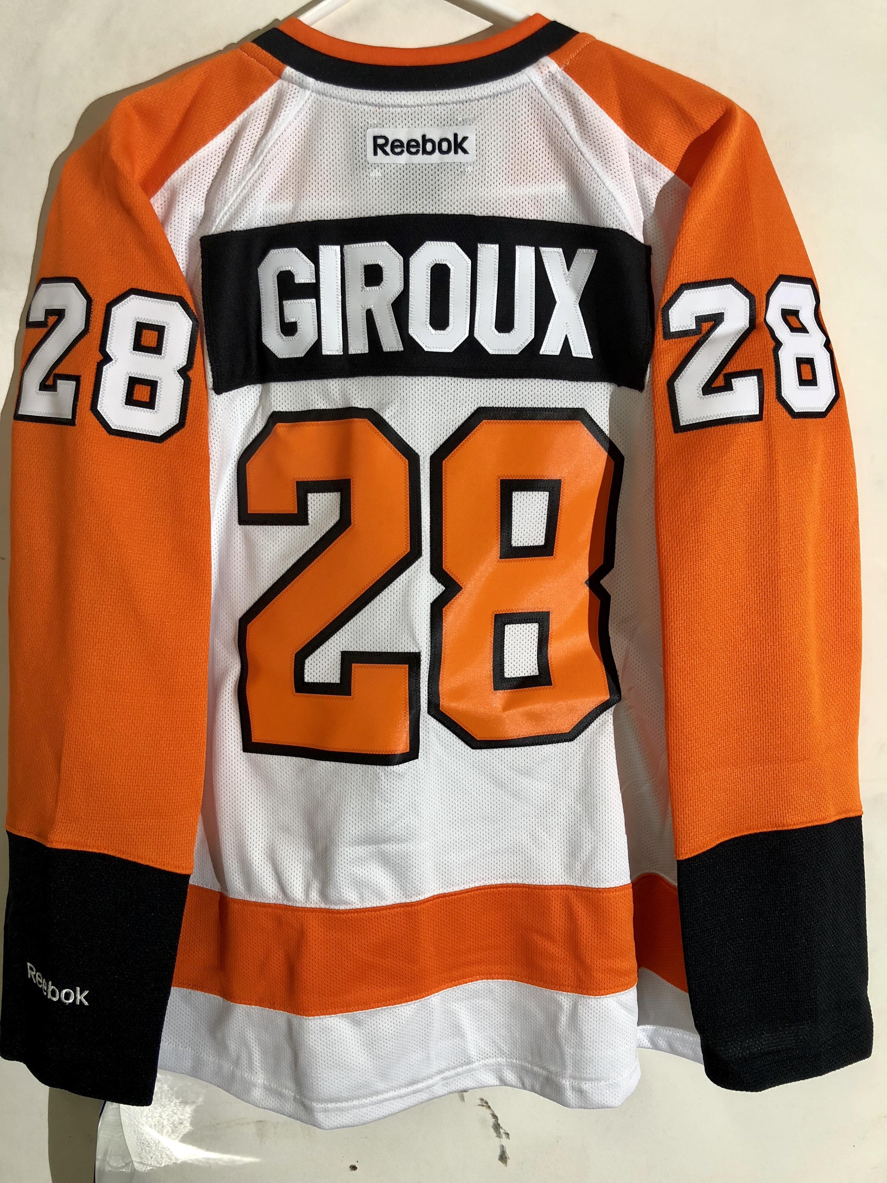 8ee9b7d12 Reebok Women's Premier NHL Jersey Philadelphia Flyers Giroux White ...