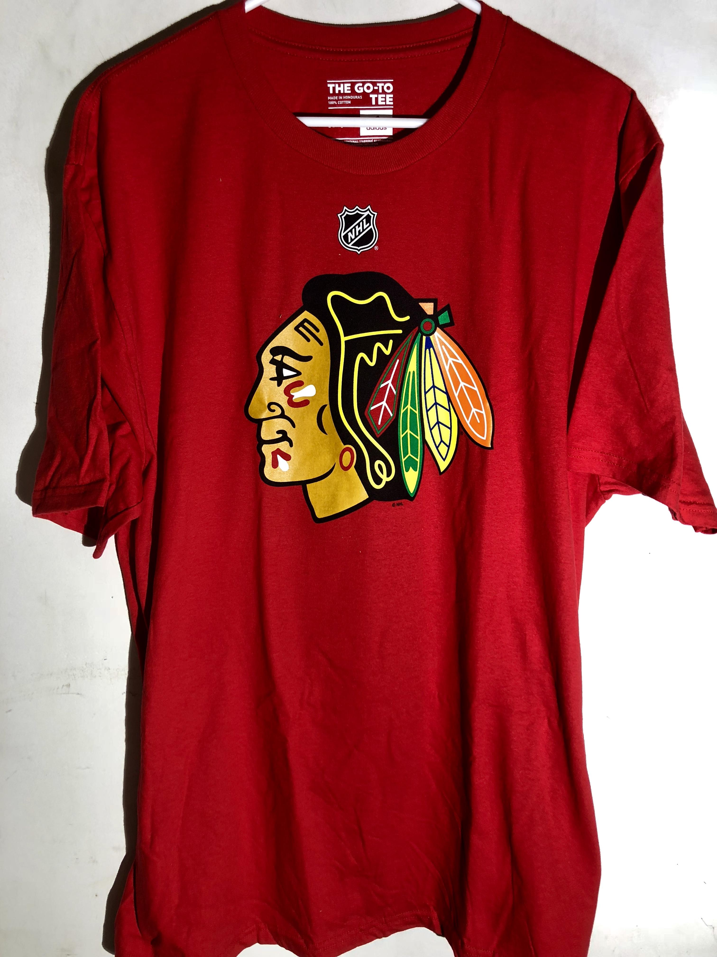 108a5be37 adidas NHL Tee Chicago Blackhawks Niklas Hjalmarsson Red sz XL | eBay