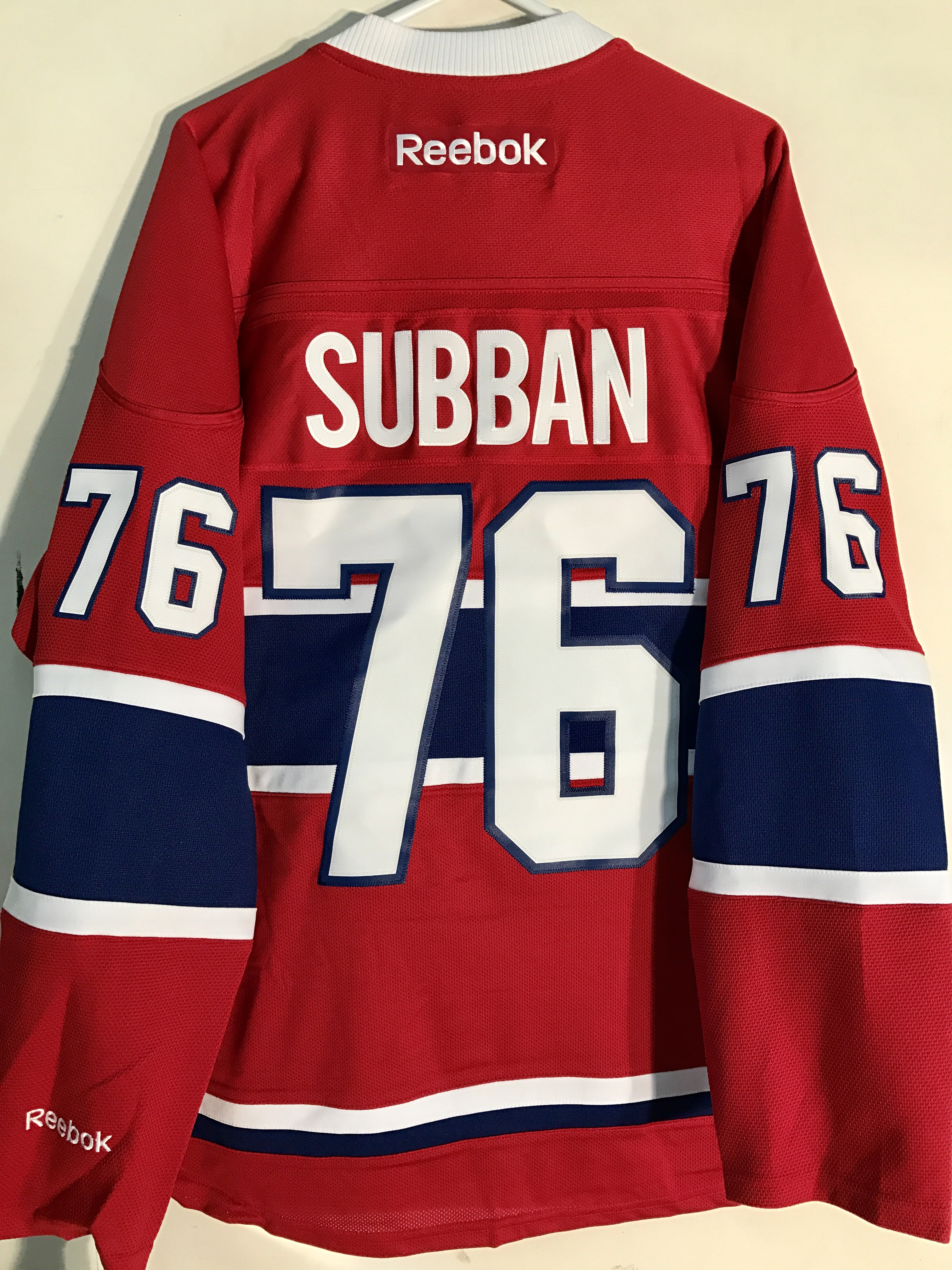 33a5f1156e0 Reebok Premier NHL Jersey Montreal Canadiens P.K. Subban Red sz S