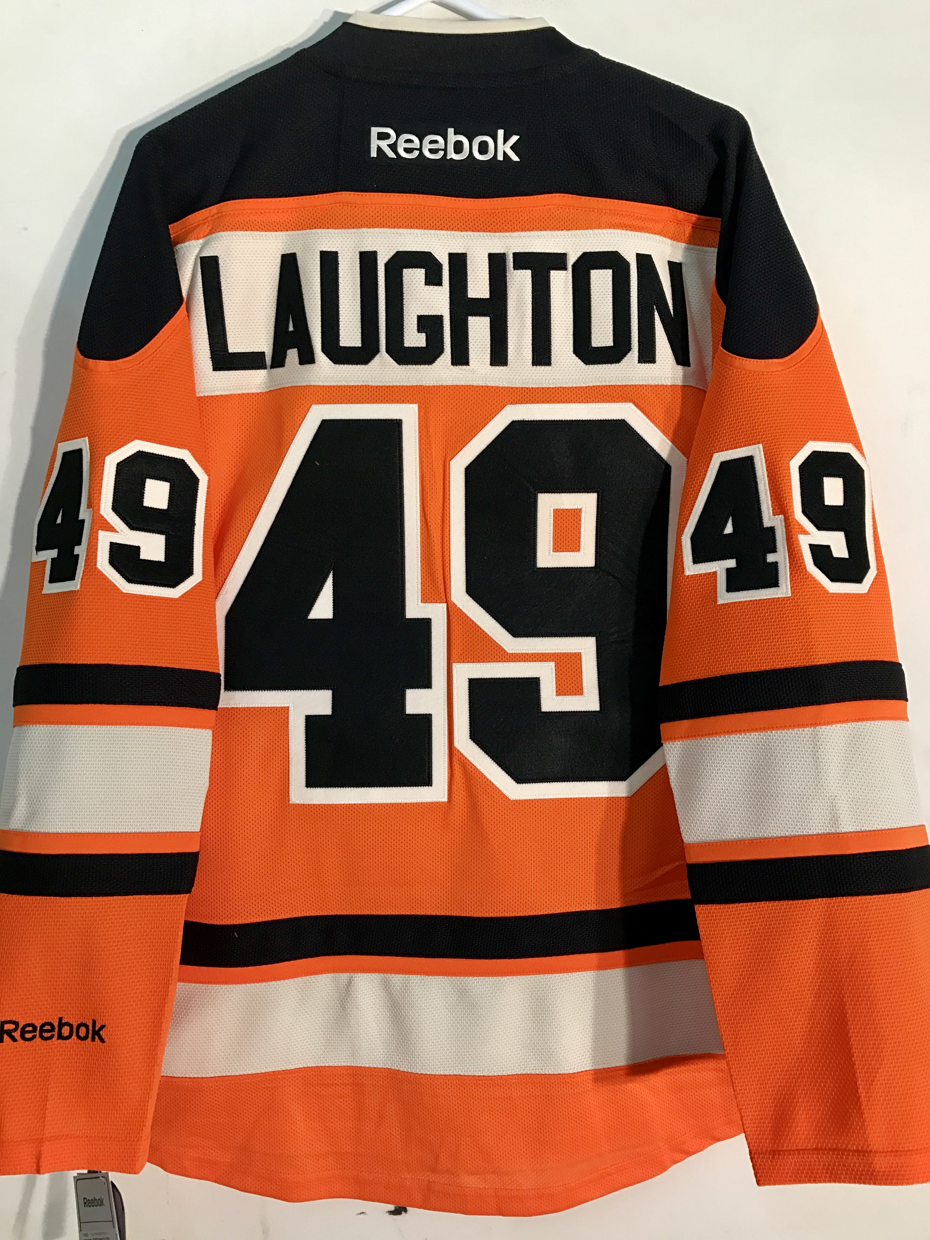 76efa16f7 Reebok Premier NHL Jersey Philadelphia Flyers Scott Laughton Orange ...