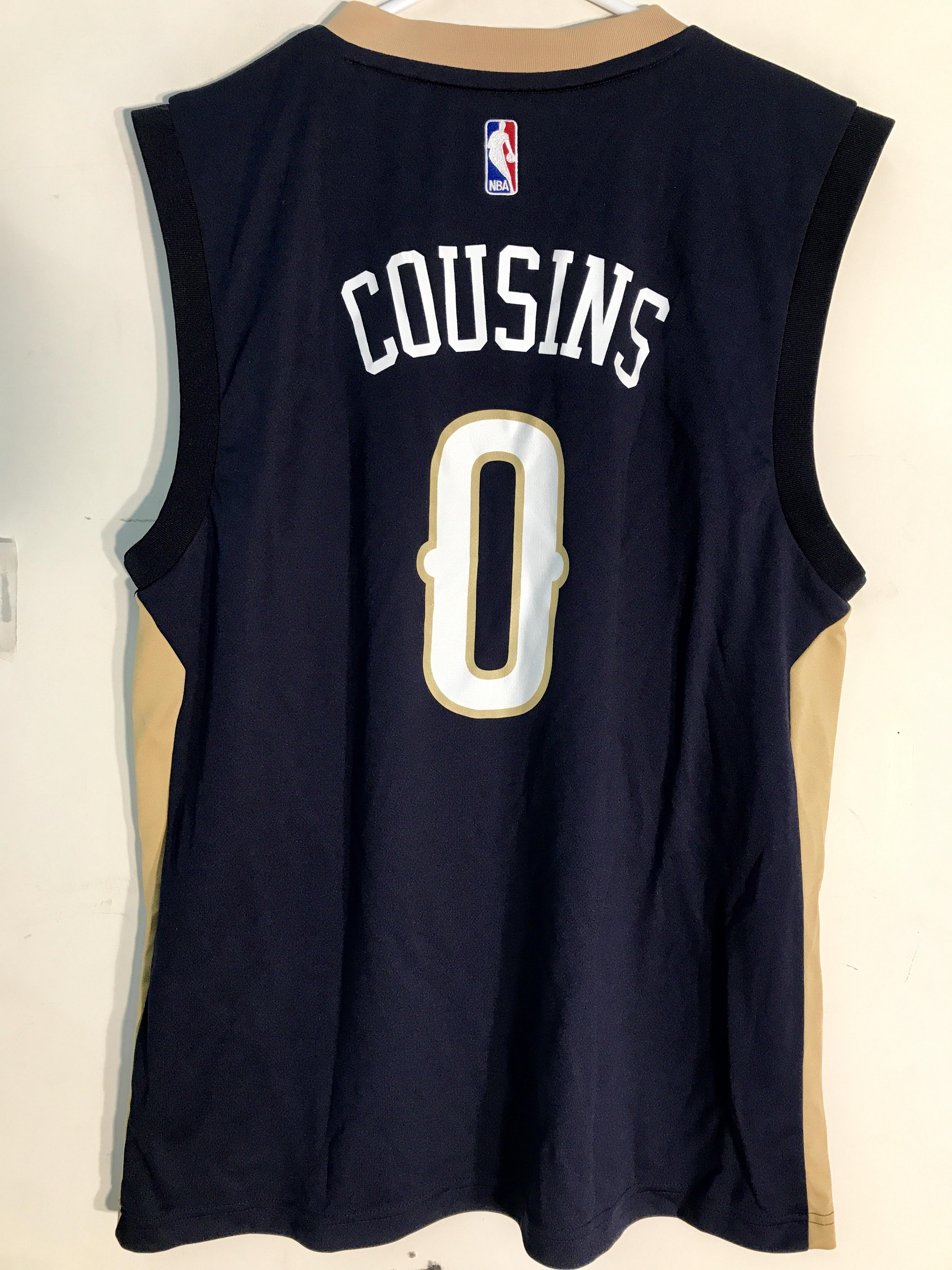 4db972f85a5 ... denmark details about adidas nba jersey new orleans pelicans demarcus  cousins navy sz m 7458e 57478