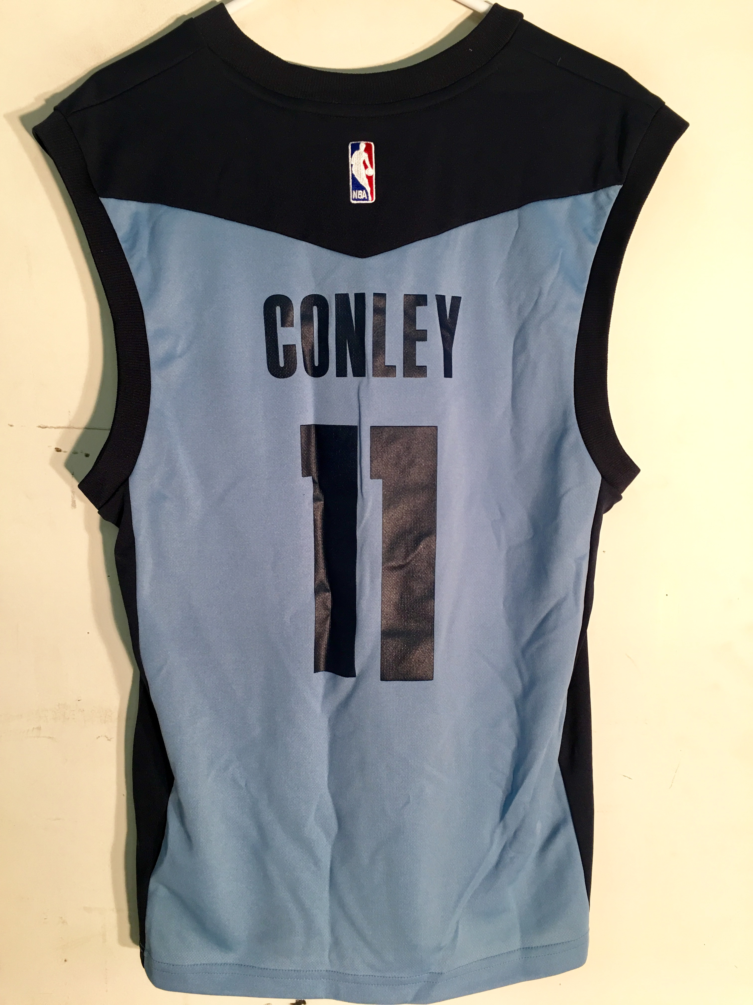 dfd33ba8cdc ... australia adidas nba jersey grizzlies mike conley light blue sz xl  d85f3 18cb0