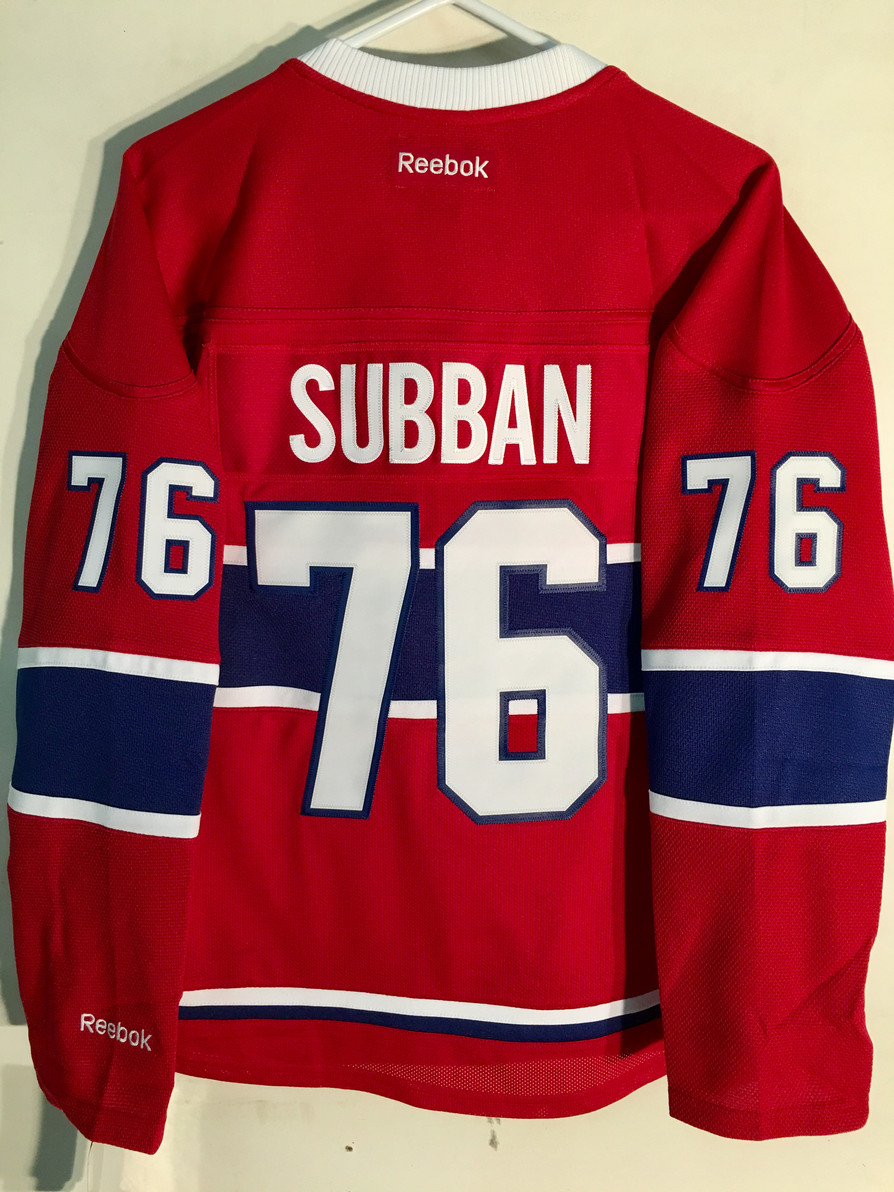 1003ebef3b8 Details about Reebok Women s Premier NHL Jersey Montreal Canadiens P.K.  Subban Red sz 2X