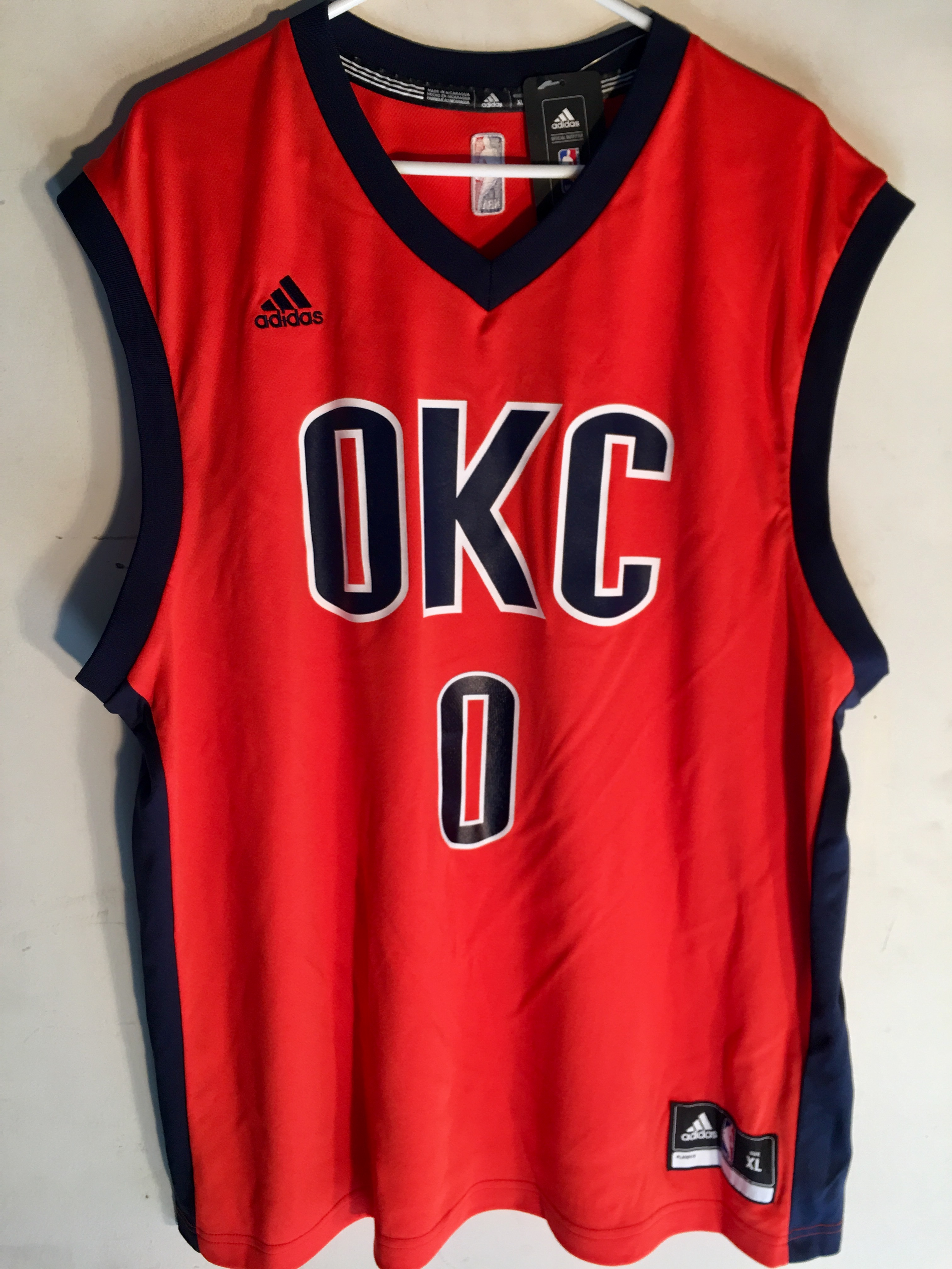 competitive price dc138 9f09c norway russell westbrook sleeve jersey 98ab5 a0d55