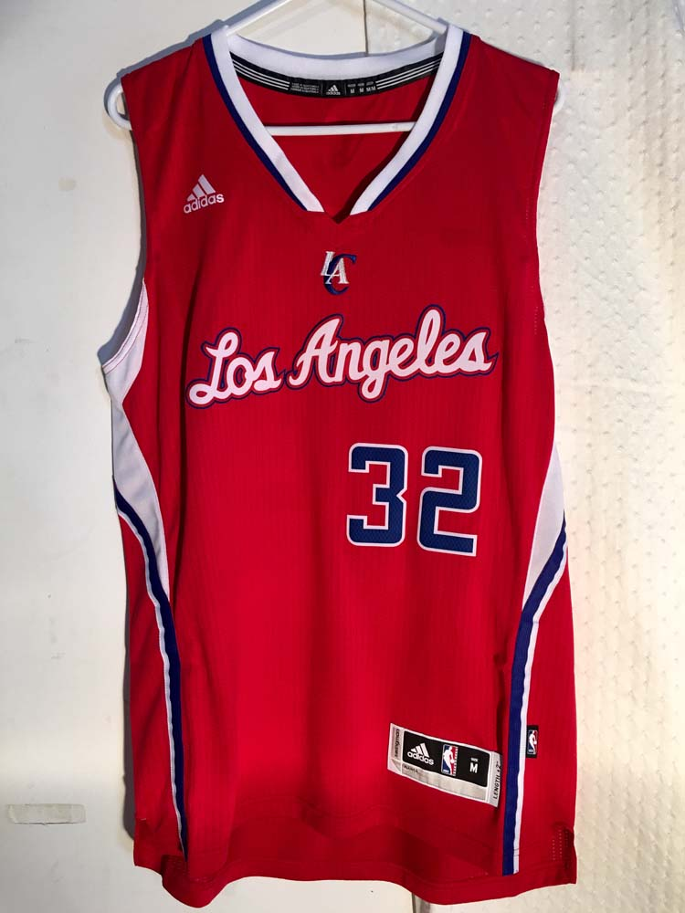 4fd1bc8b4 Details about Adidas Swingman 2014-15 NBA Jersey Los Angeles Clippers Blake  Griffin Red sz XL