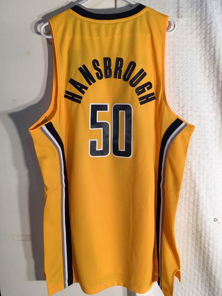1f2bc04ffa0d Adidas Swingman NBA Jersey Indiana Pacers Tyler Hansbrough Yellow sz ...