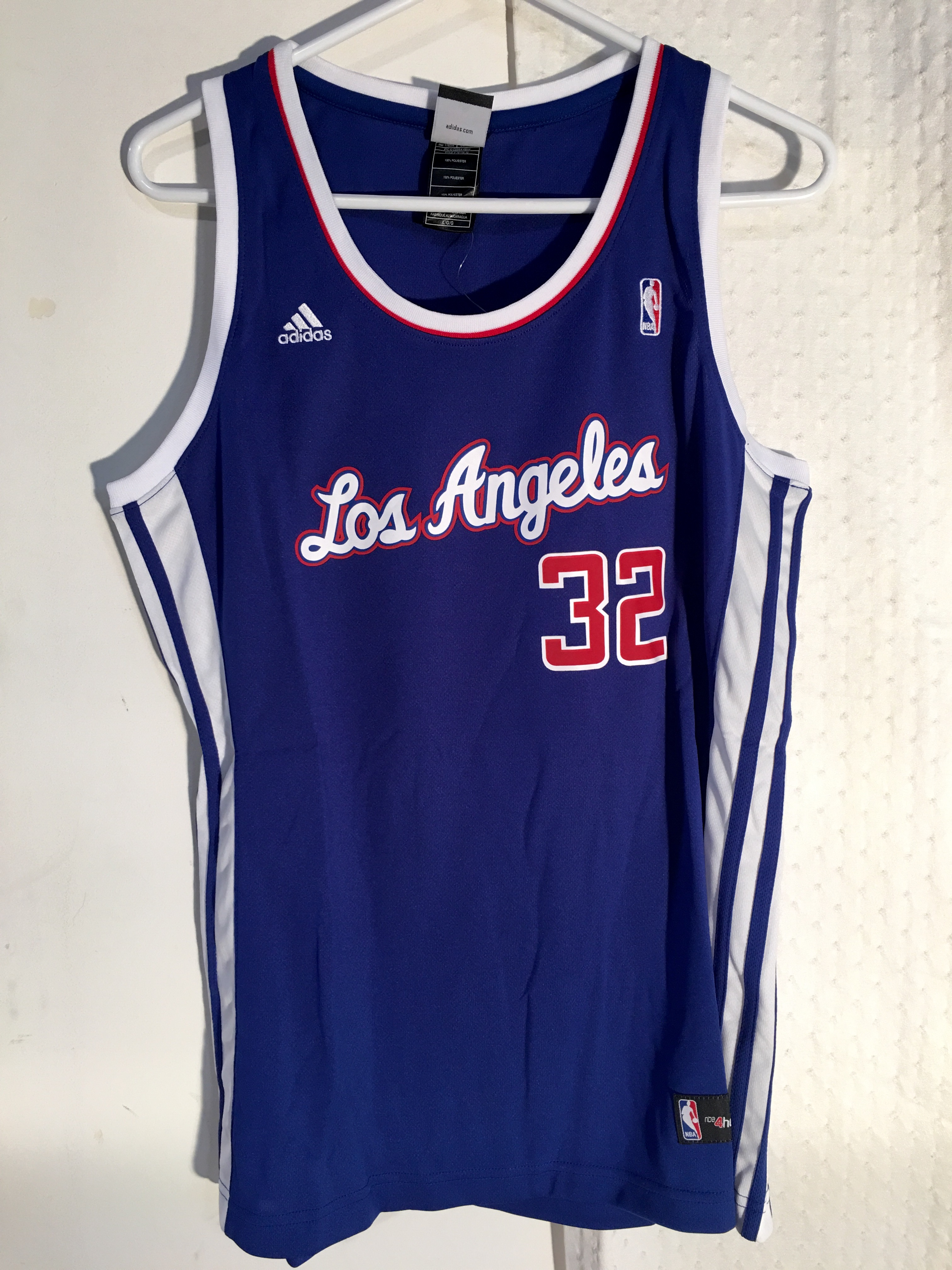 Adidas Women s NBA Jersey Los Angeles Clippers Blake Griffin Blue sz ... a9b842ae84