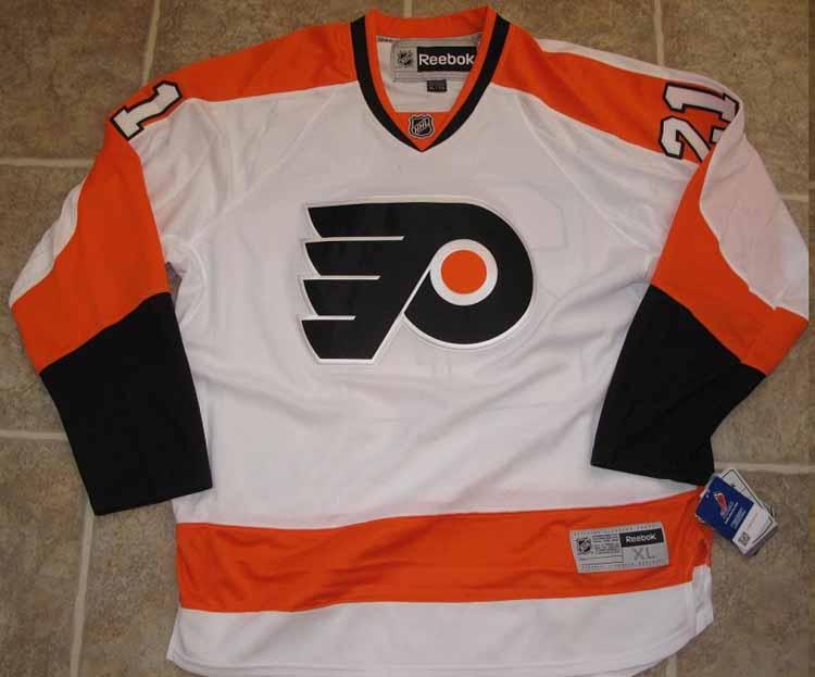 70ba30beddc Reebok Premier NHL Jersey Philadelphia Flyers James Van Riemsdyk ...